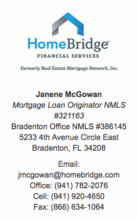 HomeBridge Financial Bradenton Mortgage Information